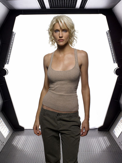 Tricia Helfer as Cylon 6
