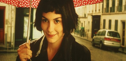 Audrey Tautou as Amelie. Source: IMDB