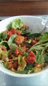 Gut-friendly salad