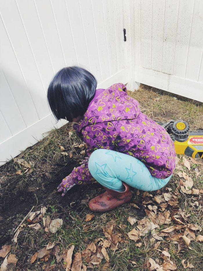 My little eco-warrior. www.babblingpanda.com