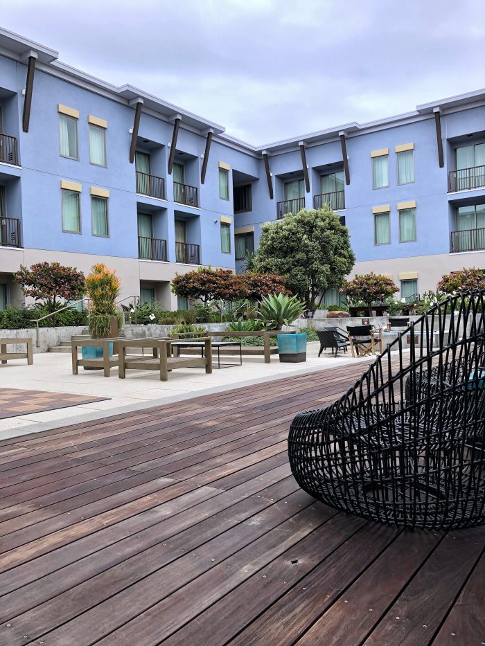 The beautiful Kimpton Shorebreak Hotel in Huntington Beach