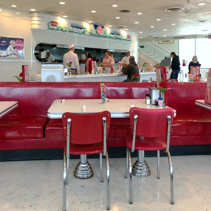 Ruby's Diner in Huntington Beach