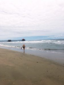 Weekend vibes at Huntington Beach, California