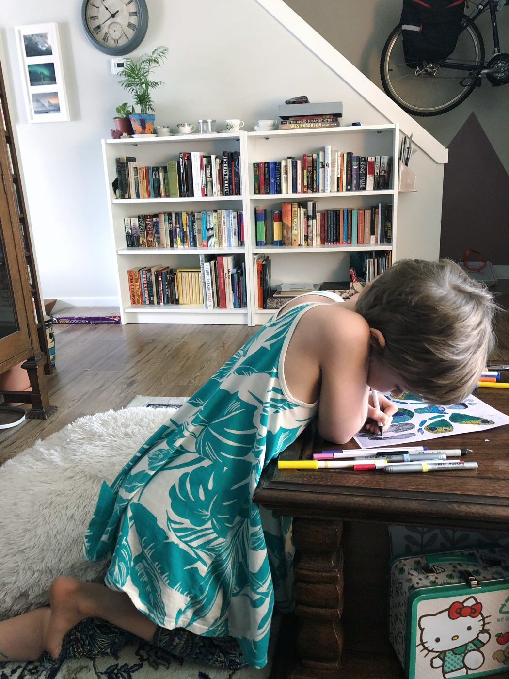 How renovations are affecting our daughter's ADHD- and how we're coping.
